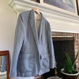 J crew blazer/ suit top, Italian Fabric
